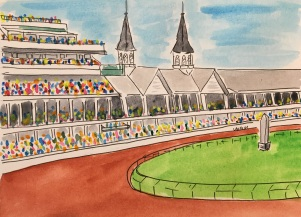 Churchill Downs PRINT