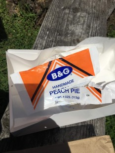 B&G Peach Pie